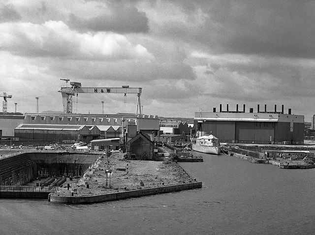Thompson Dock & Alexandra Dock, Belfast - 2003