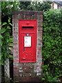 SP9226 : George V postbox by Philip Jeffrey