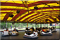 NS7258 : Dodgems, M&Ds amusement park by Mike Pennington
