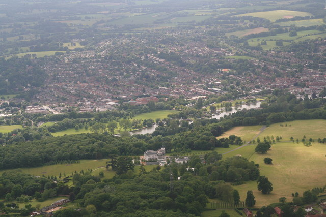 Park Place Aerial Chris Geograph Britain And Ireland