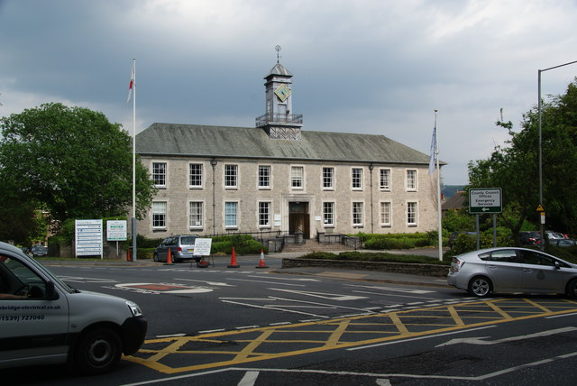 County Council offices in Kendal