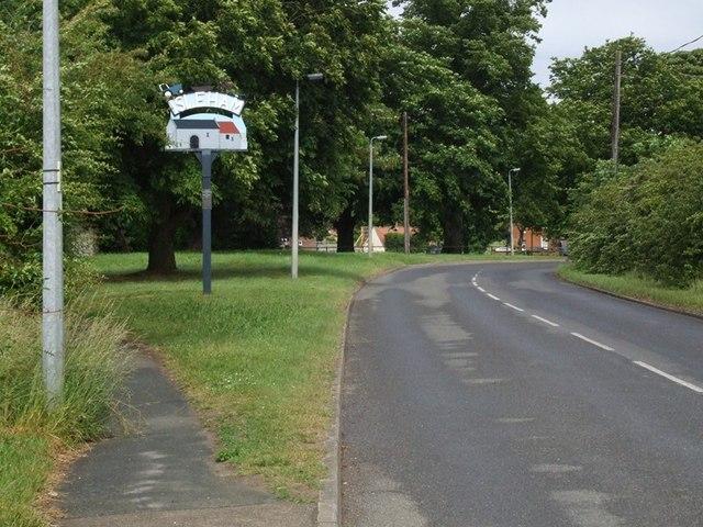 Village Sign.