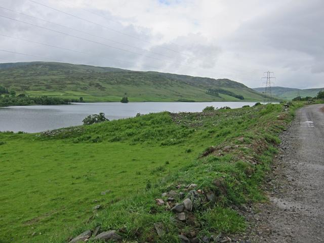 Track north of Loch Freuchie