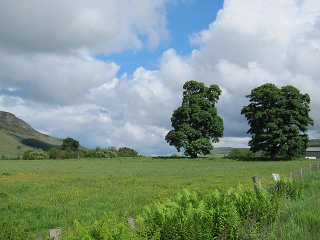 A break in the clouds, Glen Quaich