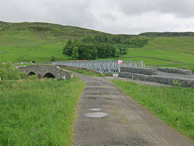 Two bridges at Turrerich