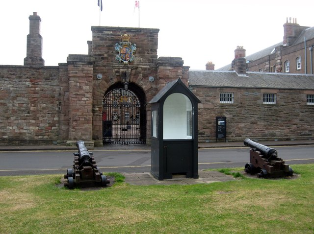 Gateway and Guard House, Berwick Barracks