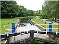 TL8008 : Hoe Mill Lock, Chelmer and Blackwater Navigation : Week 26