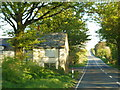 SX2086 : The A395 at Cold Northcott Farm by Ian S