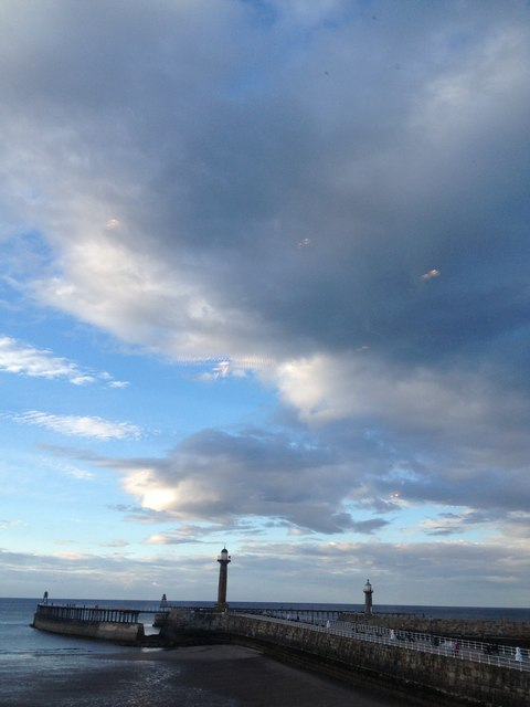 West and East Pier, Whitby