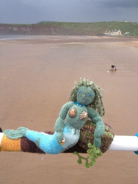 Mermaid at Saltburn-by-the-Sea