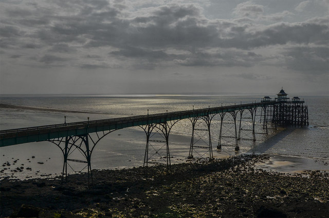 Clevedon Bay and Pier