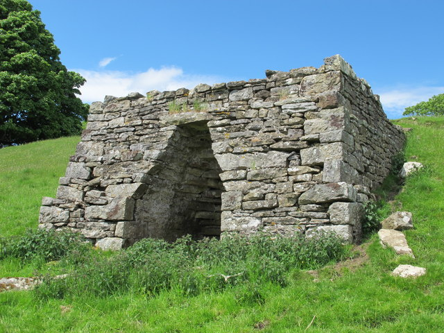 Lime Kiln, west of Ayle