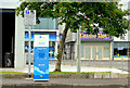 D4002 : E-car charging point, Larne (1) by Albert Bridge
