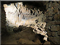 SX7466 : The Talus Cone, Joint Mitnor Cave, Buckfastleigh by Chris Reynolds