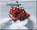 J5082 : Lifeboat exercise, Bangor harbour : Week 27