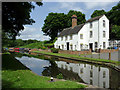 SO8684 : Canalside  houses at Stourton, Staffordshire : Week 26
