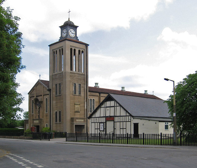 Goldthorpe - parish church and church hall