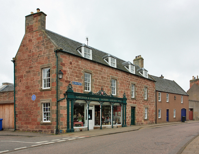 Gardiner & Gardiner, Antiques Northern Style, High Street, Cromarty