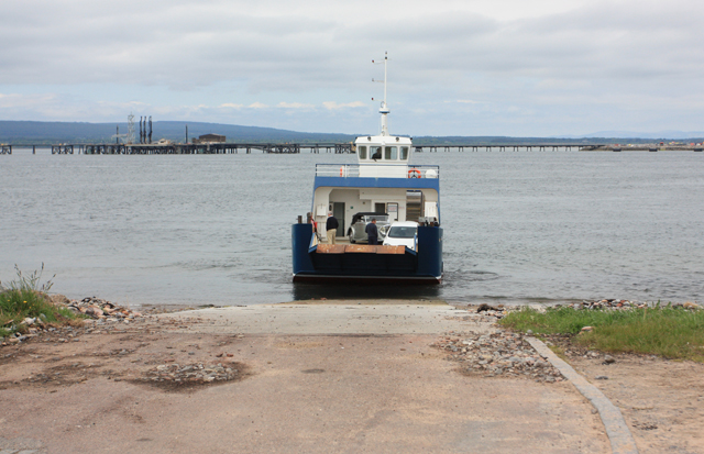 Cromarty to Nigg Ferry