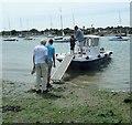 SU8001 : Itchenor Ferry - passengers embark by Rob Farrow