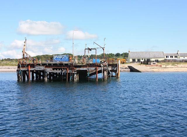 Nigg pier and jetty