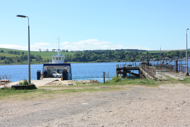 Nigg Ferry and pier