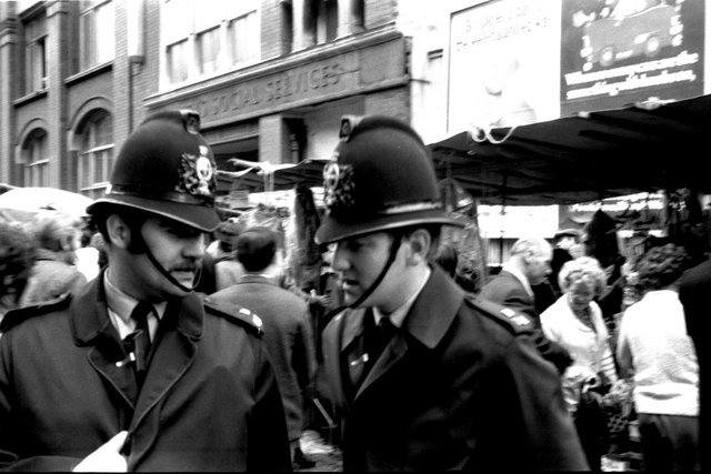 London, Middlesex Street - 1971