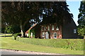 TF3975 : Calceby Manor and copper beech tree by Chris
