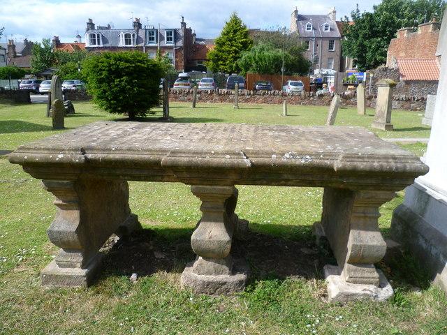 Rev. John Blackadder's tombstone