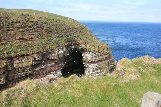 Natural Arch, Geo of Sclaites