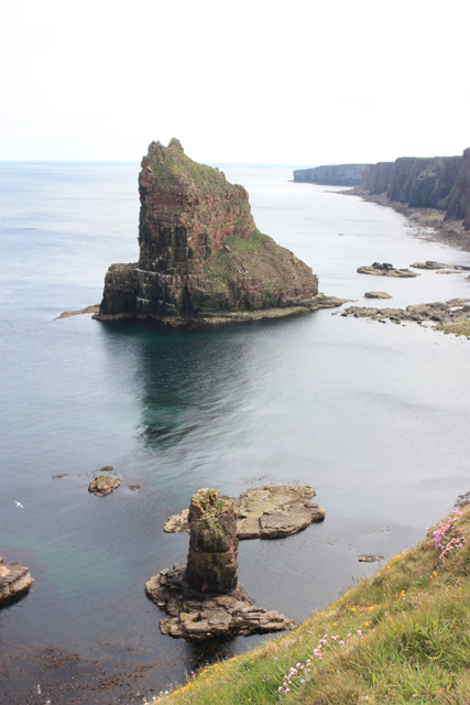 A small stack at Duncansby Head