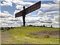 NZ2657 : Angel of the North by David Dixon