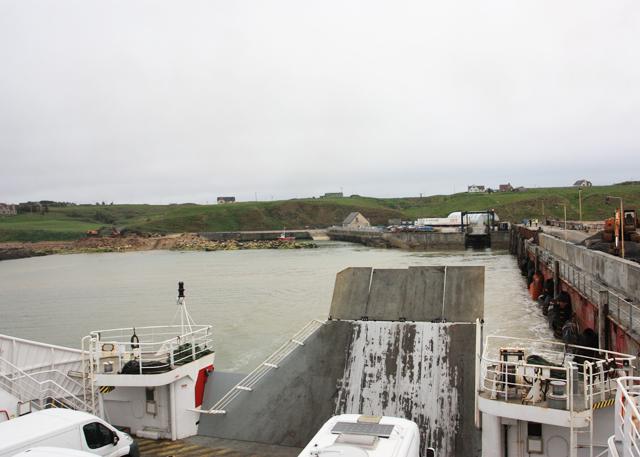 Leaving Gills Bay