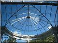 TQ0682 : The conservatory roof at Bishopshalt School : Week 27