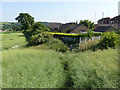 SE3801 : Footpath and kissing gate  by Alan Murray-Rust