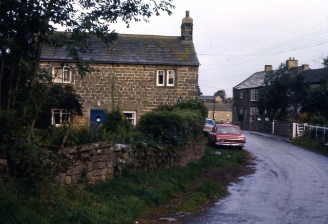 Lilac Cottage, Ellingstring YHA on 30 Sept 1979