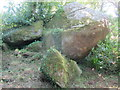 SW7417 : A rock garden (literally) in Gwenter by Dr Duncan Pepper
