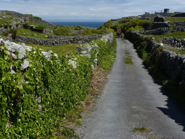 Inis Oírr - tractor ride