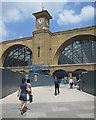 TQ3083 : Kings Cross: Cubitt's facade : Week 29