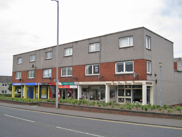 Shops and flats prestwick richard dorrell geograph for 85 degrees tanning salon
