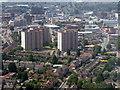 TL0920 : Towerblocks at Park Town by M J Richardson