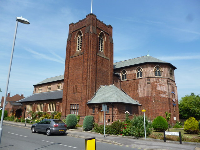 New Malden:  St. James' Parish Church