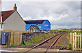 NS3936 : Site of Gatehead station, 1998. by Ben Brooksbank