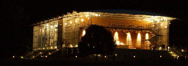 Garsington Opera pavilion, Wormsley
