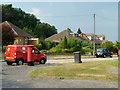 TQ0387 : Postal collection, Denham by Robin Webster