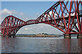 NT1379 : Inchgarvie below the Forth Bridge by Anne Burgess