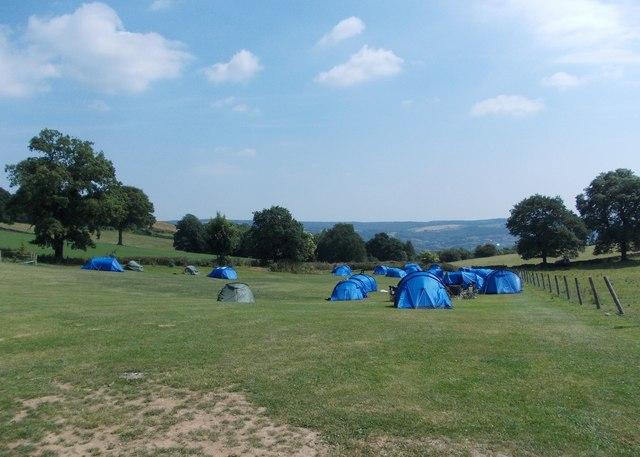 Blue Tents Barn Farm Campsite 169 Neil Theasby Cc By