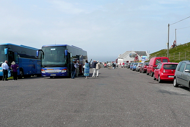 The car park at Mizen Head