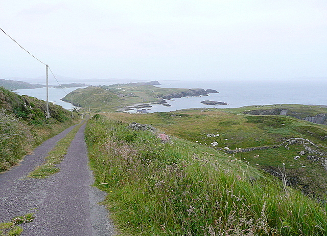 View from the Brow Head road