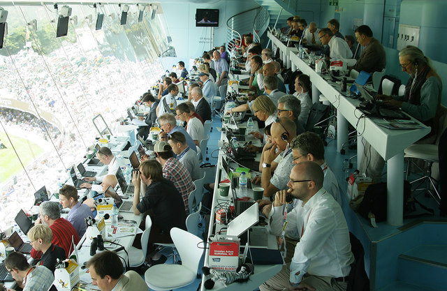 Inside the Lord's Media Centre